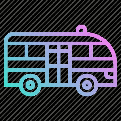 Automobile, minibus, public, transport, transportation icon - Download on Iconfinder
