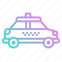 car, public, taxi, transport, vehicle icon