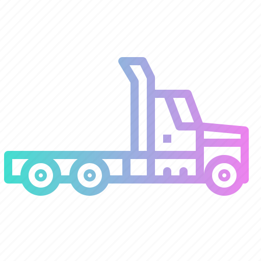logistics, shipping, transport, transpotation, truck icon