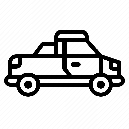 car, pickup, public, transport, vehicle icon