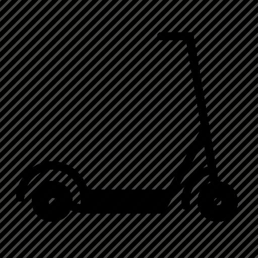 kick, kickboard, scooter, transport, transportation icon