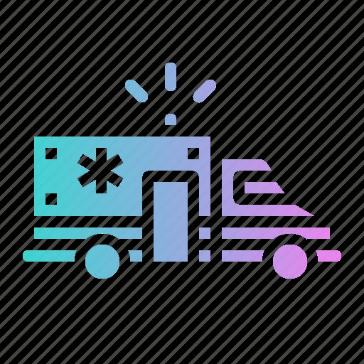 Ambulance, emergency, medical, transport, vehicle icon - Download on Iconfinder
