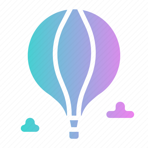 Air, balloon, hot, transportation, travel icon - Download on Iconfinder