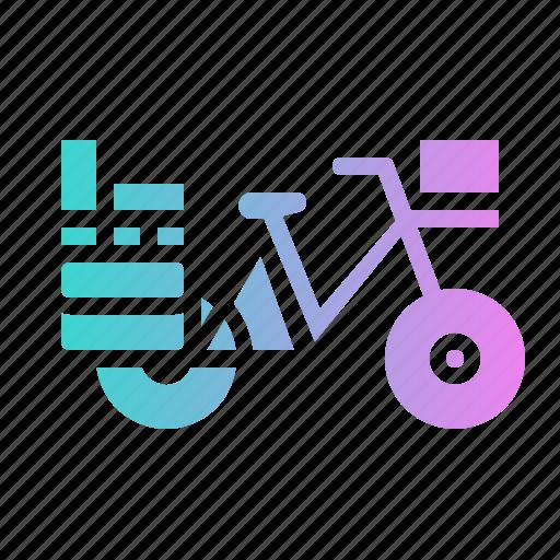 Bike, postman, touring, transport, vehicle icon - Download on Iconfinder