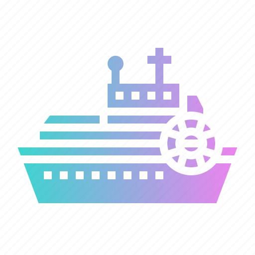 boat, leisure, navigation, ship, transport icon