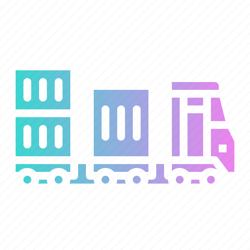 Cargo, delivery, train, transport, transportation icon - Download on Iconfinder