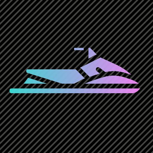 Jet, scooter, sea, ski, watercraft icon - Download on Iconfinder