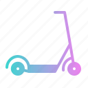 kick, kickboard, scooter, transport, transportation