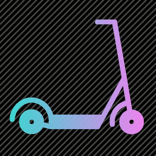 Kick, kickboard, scooter, transport, transportation icon - Download on Iconfinder