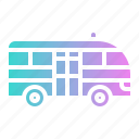 automobile, minibus, public, transport, transportation icon
