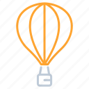 balloon, bubble, transportation, zeppelin icon