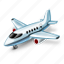 airplane, plan icon