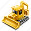construction, excavator icon