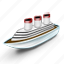 boat, sailing, sea, ship icon