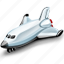 shuttle, space icon