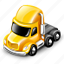 tractor, truck icon