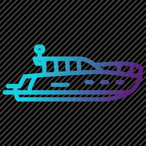 boat, ship, transportation, travel, yacht icon