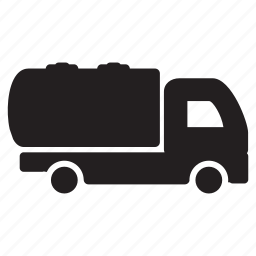 cargo, delivery, liquid, lorry, transportation, truck icon