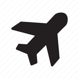 delivery, fly, jet, plane, shipping, transportation, travel icon