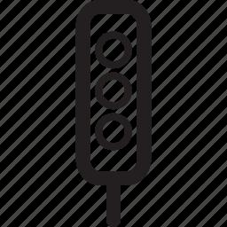 car, lights, road, street, traffic, transportation, vehicle icon
