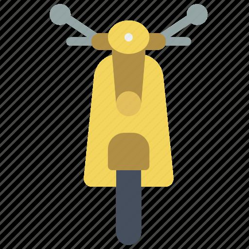 moped, motor, transportation, vehicle icon