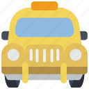 motor, taxi, transportation, vehicle icon