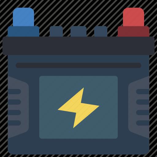 battery, car, motor, transportation icon