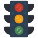 lights, traffic, transportation icon