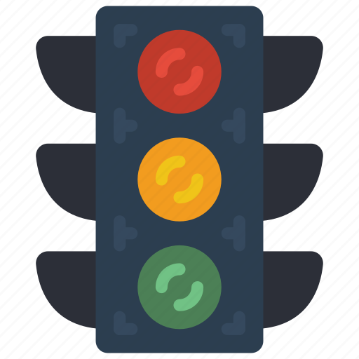 lights, traffic, transportation icon