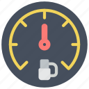 dashboard, gauge, motor, petrol, transportation icon