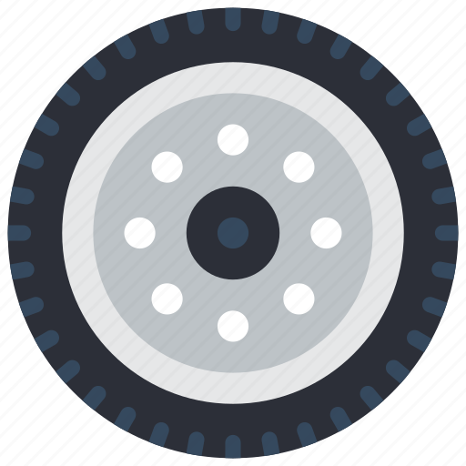 car, motor, transportation, tyre, wheel icon