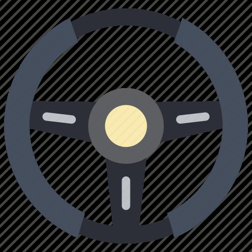 car, carparts, motor, steering, transportation, wheel icon
