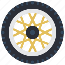 carparts, motor, transportation, tyre, wheel icon