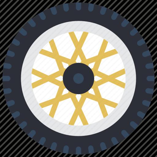 carparts, motor, transportation, tyre, wheel icon