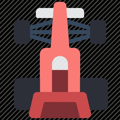 car, motor, racing, top, transportation, vehicle icon