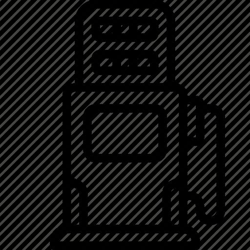 car, motor, petrol, pump, transportation, vehicle icon