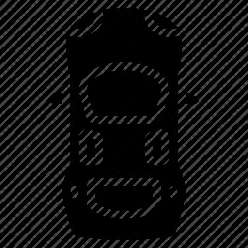 car, top, transportation, vehicle icon