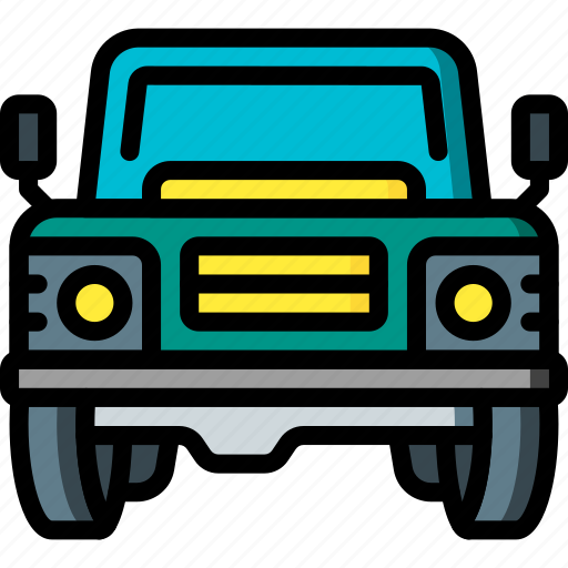 car, jeep, land, motor, rover, transportation, vehicle icon