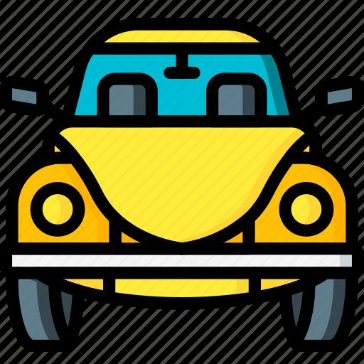 beetle, bug, car, motor, transportation, vehicle, vw icon