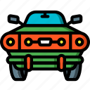 car, motor, muscle, transportation, vehicle icon