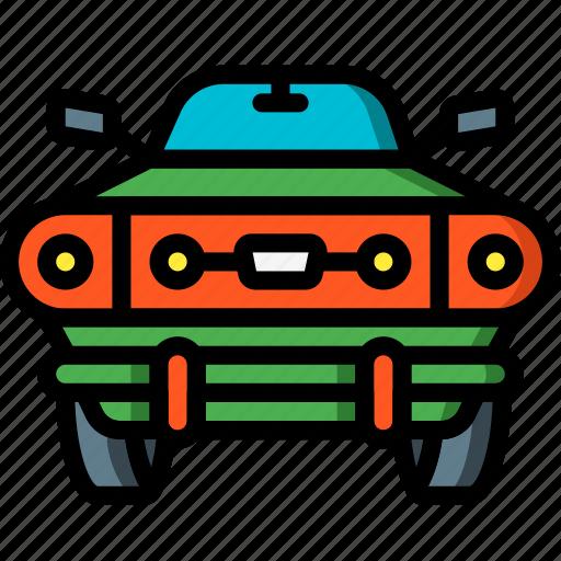 car, motor, muscle, transportation, vehicle icon