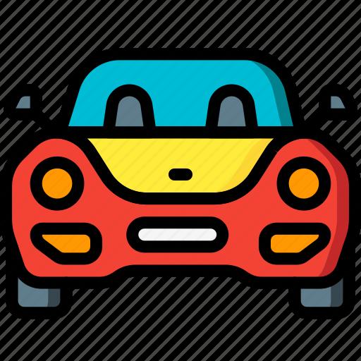 car, motor, sports, transportation, vehicle icon
