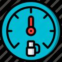 carparts, dashboard, gauge, motor, petrol, transportation, vehicle icon