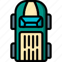 car, motor, top, transportation, van, vehicle icon
