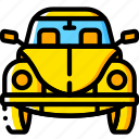 beetle, bug, car, motor, transportation, vehicle icon