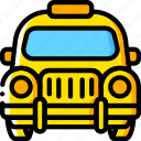 car, motor, taxi, transportation, vehicle icon