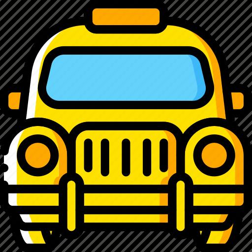 car, motor, taxi, transportation, vehicle icon
