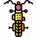 motor, motorbike, transportation, vehicle icon