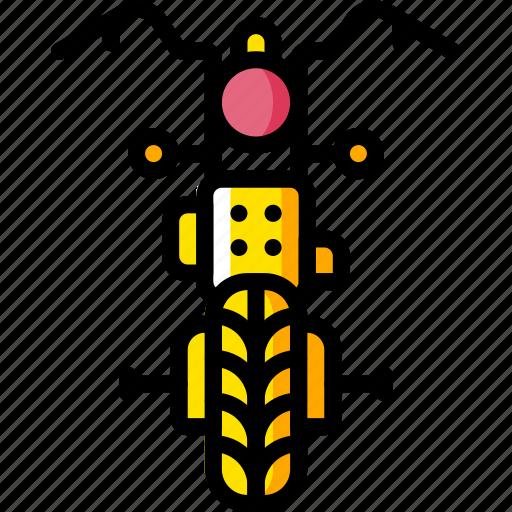 motor, motorbike, transportation, vehicle icon
