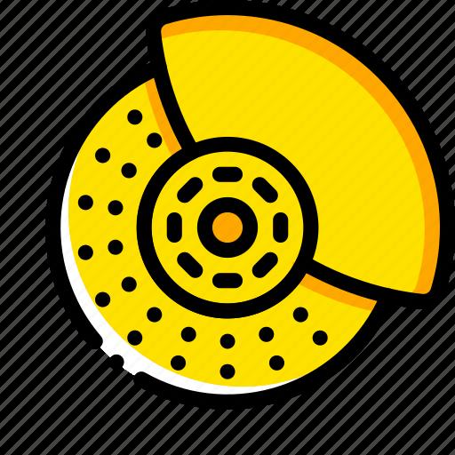 brakes, car, carparts, disks, motor, transportation, vehicle icon